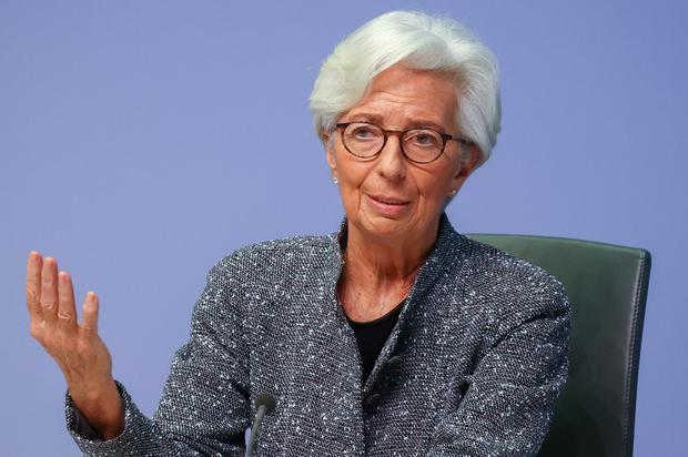 ECB chief Christine Lagarde says 'we are far away' from inflation goal of close to 2pc