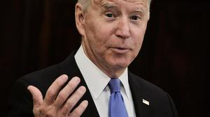President Joe Biden says petrol stations will be back to normal