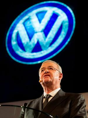 SCANDAL: Martin Winterkorn resigned as Volkswagen CEO as a consequence of the emissions cheating scandal that has sparked a US criminal investigation and worldwide legal action