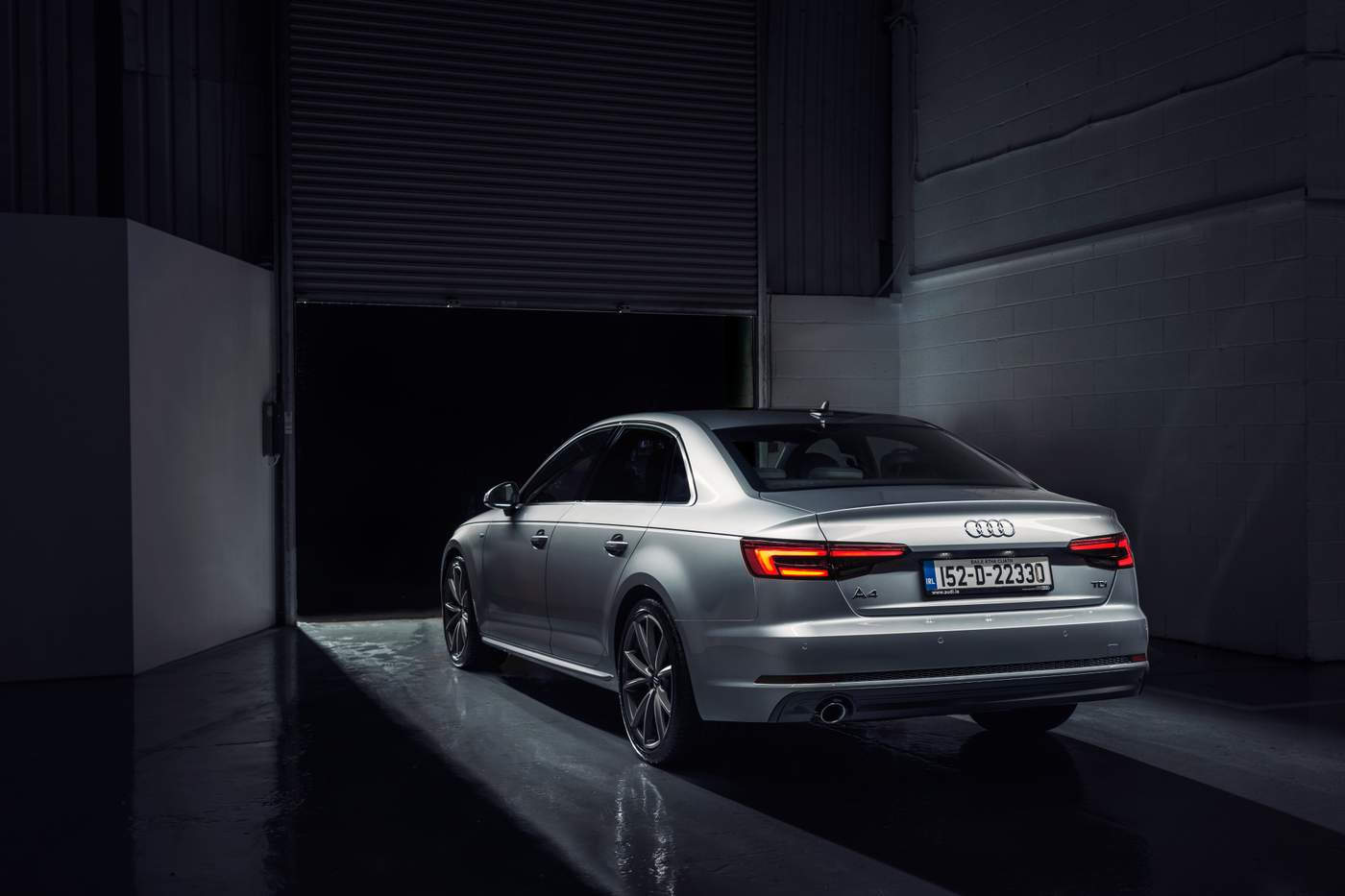 The New Audi A4 Technology Driving Evolution