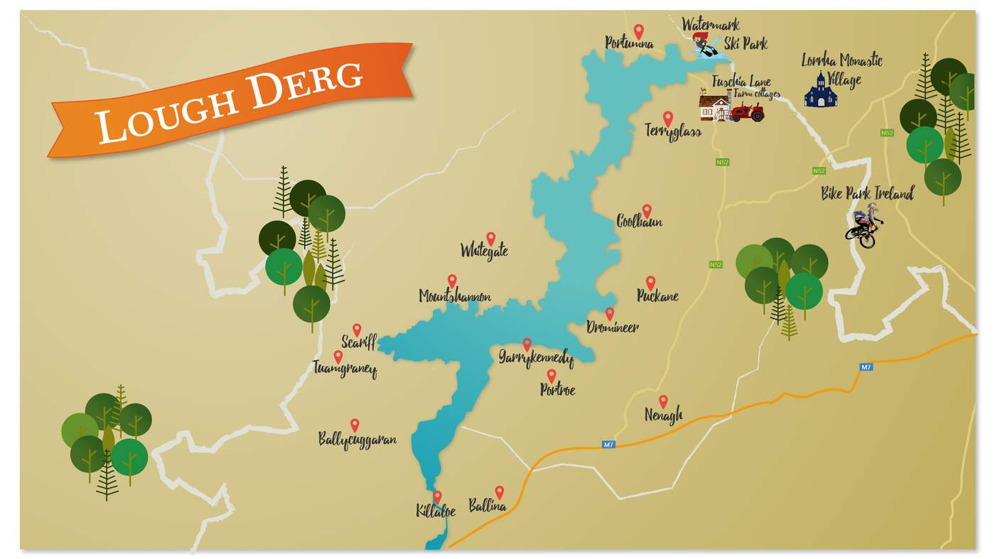 Youtube Map Of Ireland.The Lakelands Ireland S Hidden Gem Lough Derg