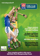 Cover of G A A Club Championships magazine