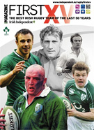 Cover of First 15 rugby magazine