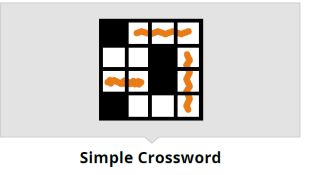 Simple Crossword