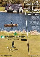 Cover of Irish Open magazine