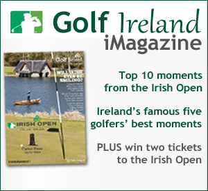 Golf Ireland Irish Open magazine cover