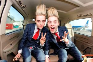 Jedward appeared on The X Factor in 2009