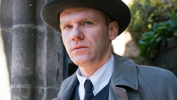 Height of the war: Brian Gleeson as hitman Jimmy McMahon in Resistance