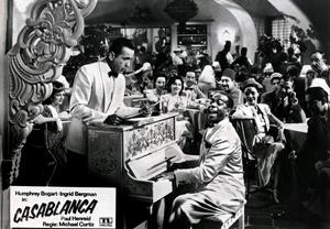 Going once: The piano in Casablanca is expected to fetch $1m at auction next week