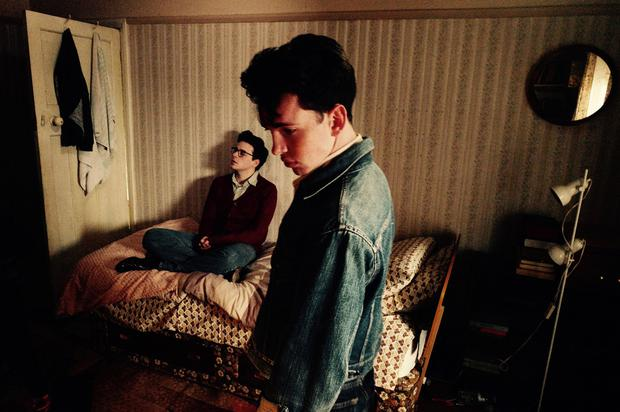A fear of fitting in: Jack Lowden as Morrissey and Laurie Kynaston as Johnny Marr in the film England is Mine