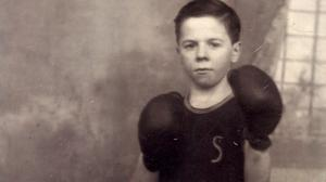 Tony McGregor's father as a young boy.