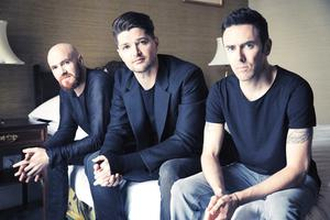 Mark, Denny and Glen from The Script