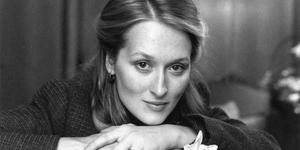 In character: Meryl Streep thought she was too ugly to be an actress.