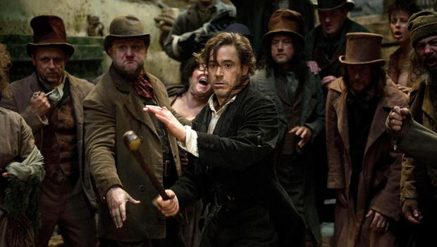 Jittery and lovable: Robert Downey Jr as Sherlock Holmes