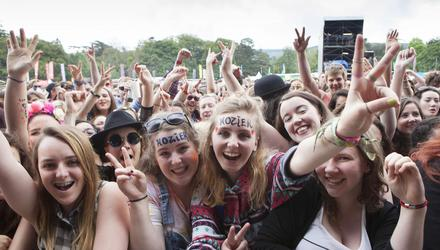 Hozier fans at Electric Picnic in 2019.