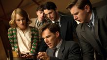 Keira Knightley, Matthew Beard, Matthew Goode, Benedict Cumberbatch, and Allen Leech star in The Imitation Game