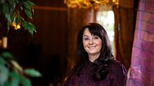 Bestselling novelist and non-fiction writer Marian Keyes pictured at her home. Photo: Mark Condren