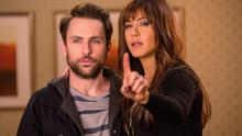 Charlie Day and Jennifer Anniston in 'Horrible Bosses 2'