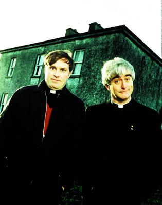 MORGAN DERMOT A O HANLON IN FR TED...CHANNEL FOUR TELEVISION  124 HORSEFERRY ROAD  LONDON    SW1P 2TX  TEL: 0171 306 8685  FATHER TED  Heavens above! Fathers Ted and Dougal return to our screens.  Tx: Friday 6 March 1998      FREE OF CHARGE FOR PROGRAMME PUBLICITY ONLY...ENT