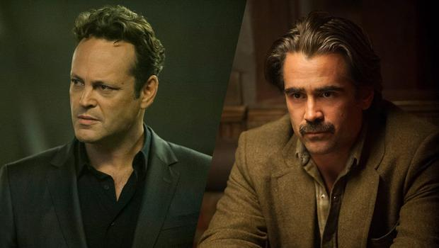 New kids on the block: Vince Vaughn and Colin Farrell take over the reins from Matthew McConaughey and Woody Harrelson in 'True Detective' season two