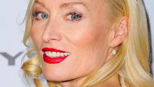 Victoria Smurfit is due at the Golden Globes in Beverly Hills after filming in Vancouver