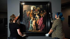 The Rembrandt is going on display for the first time (Kirsty O'Connor/PA)
