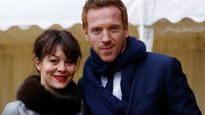 Helen with her husband Damian Lewis