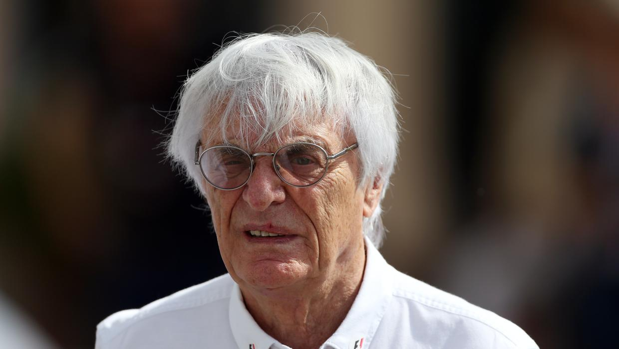 Bernie Ecclestone: I don't change nappies because that's what wives are for