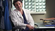 Patrick Dempsey as Dr Shepherd in 'Grey's Anatomy'.