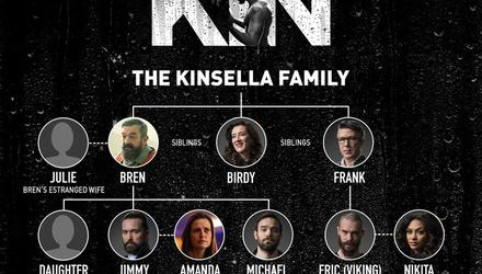 The Kinsella family tree. Credit: RTÉ.