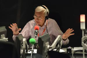 John Humphrys began his career in Wales before joining the BBC (Jeff Overs/BBC)