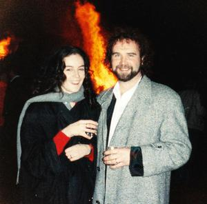 Tainted love: Annie Furlong with John Martyn