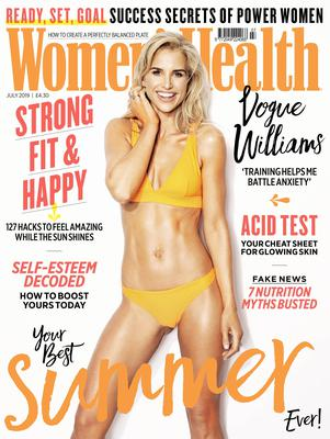 Vogue Williams (Women's Health UK/Ian Harrison)