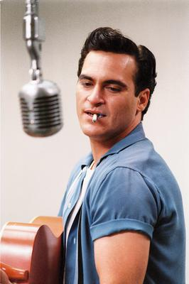 Joaquin Phoenix as Johnny Cash in 'Walk the Line' (2007).