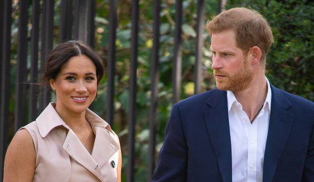 Meghan and Harry have spoken about the life as members of the royal family with Oprah (Dominic Lipinski/PA)