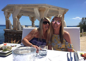 Kloe had been hoping for a beach wedding in Mallorca. Photo: Sky One / Don't Tell The Bride