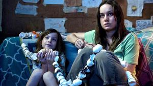 Brie Larson and Jacob Tremblay in the film of Room