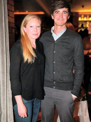 Donal Skehan and Sofie Larsson
