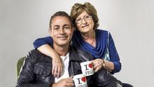 Baz and his 73-year-old dare devil mother Nancy