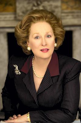Meryl Streep as Maggie Thatcher in The Iron Lady