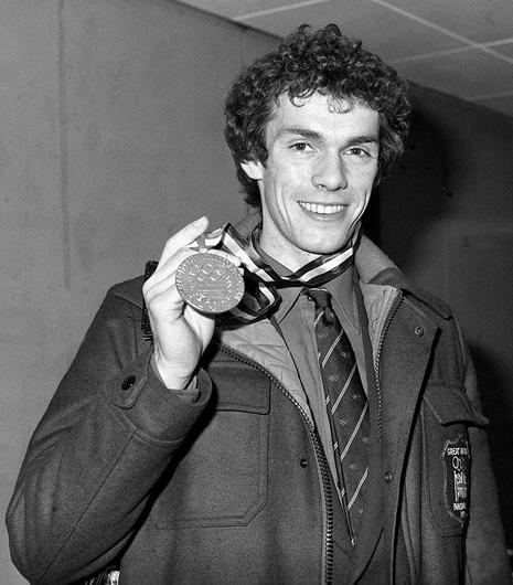 John Curry, who won gold in Innsbruck in 1976, aged 26, was the first Briton to win the Olympic men's figure-skating championship (PA)