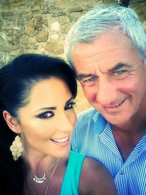 Party time: Cork-born beauty Carol Anthony and Liverpool legend Ian Rush are relaxing in Portugal.