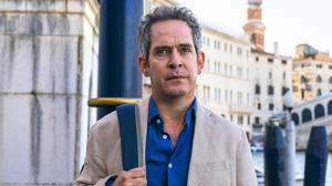 Unhappy campers: Tom Hollander plays a man whose wife wants to leave him in the BBC drama Us