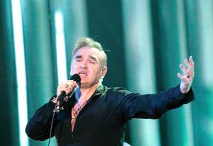 In the wars again: Morrissey will be looking for a new record company once more