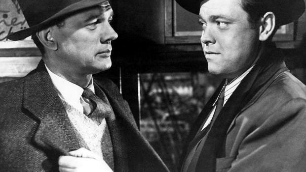 Noir thrills: Joseph Cotten and Orson Welles star in 'The Third Man'. Courtesy - Everett Collection