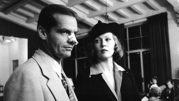 Jack Nicholson and Faye Dunaway in 'Chinatown'
