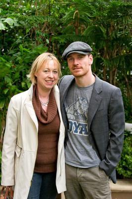 Patricia Danaher with Michael Fassbender