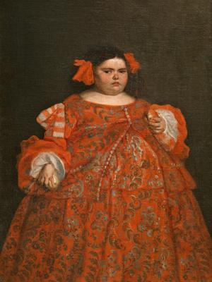 Eugenia Martinez Vallejo, clothed by Juan Carreno de Miranda