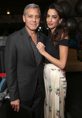 George Clooney and Amal Clooney Photo: Getty