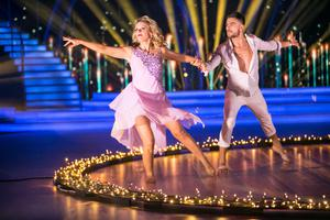 Denise McCormack and Ryan McShane perform during the final of RTÉ's 'Dancing with the Stars'. Photo: Kyran O'Brien